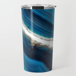 Blue Agate Travel Mug