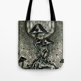Shroom Consumed Tote Bag