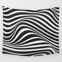 wave Wall Tapestries featuring Wave by Tracie Andrews