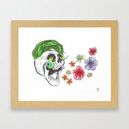 Jackseptiskull Framed Art Print