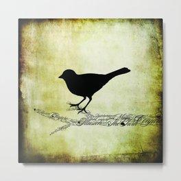 Magic Bird Metal Print