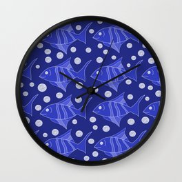 fish Wall Clock