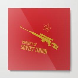 Dragunov SVD (Product of SOVIET UNION) Metal Print