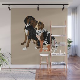 Marlowe and Gracie Wall Mural