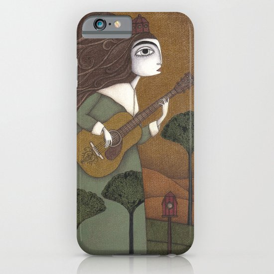 The Guitar Player iPhone & iPod Case