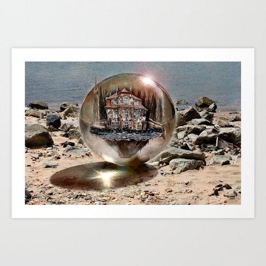 Die Strandkugel ! Art Print