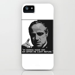 Don Corleone-Mafia iPhone Case