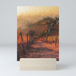 Hills of Tuscany Mini Art Print