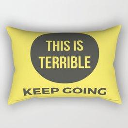 Keep Going MFM Rectangular Pillow
