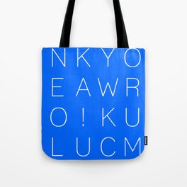 Make Your Own Luck! Tote Bag