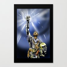 Tim Duncan, Lord of the Rings Canvas Print