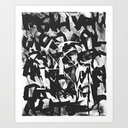 Sunday Morning with Kandezinesky Art Print