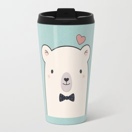 Kawaii Cute Polar Bear Travel Mug