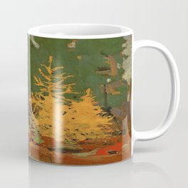 Tom Thomson Tamarack 1915 Canadian Landscape Artist Coffee Mug