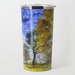 Summer Farm Van Gogh Travel Mug