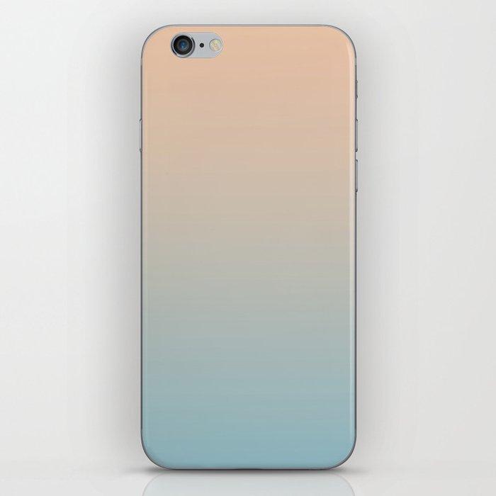 HALF MOON - Minimal Plain Soft Mood Color Blend Prints iPhone Skin