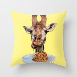 Giraphi Throw Pillow