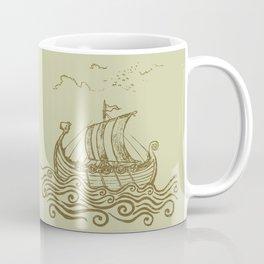 Viking ship Coffee Mug