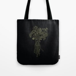 Sacred Flowers Tote Bag
