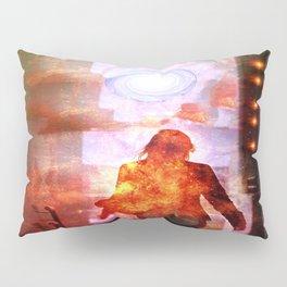 Her Infernal Exit Pillow Sham