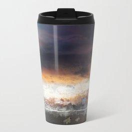 Sky, Ocean and birds Travel Mug