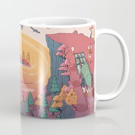 The creature of the mountain Coffee Mug