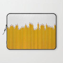 Pencil row / 3D render of very long pencils Laptop Sleeve