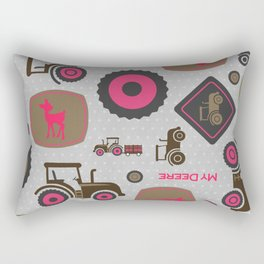 Farm Tractor Rectangular Pillow