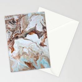 Milk Chocolate with peppermint & cream 2 Stationery Cards