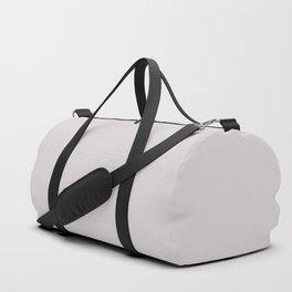 Pearl. Monotone light pinkish grey. Duffle Bag