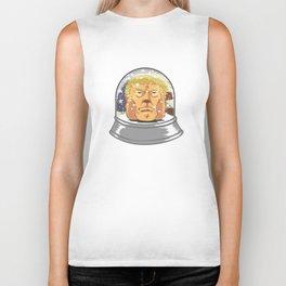 President Donald Trump Snow Globe Biker Tank