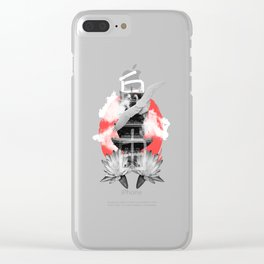 Japanese vibes Clear iPhone Case