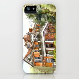 Stately Manor House iPhone Case