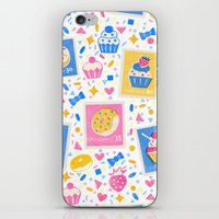 cupcakes iPhone & iPod Skins featuring Cupcakes by Hui_Yuan-Chang