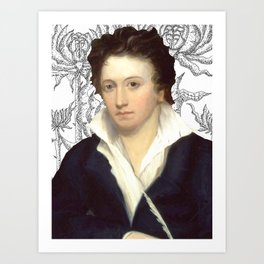 Percy Shelley Art Print