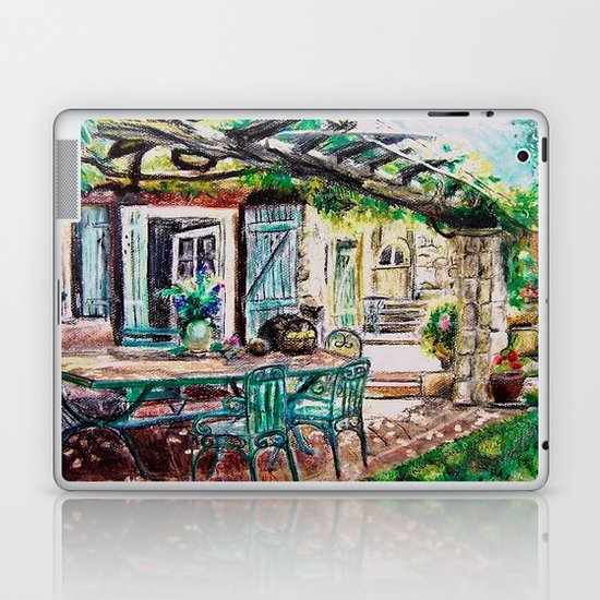 CRAYON LOVE - Sièste à l´ombre Laptop & iPad Skin
