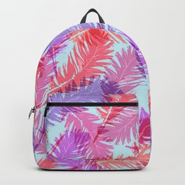 Feathers pattern Backpack
