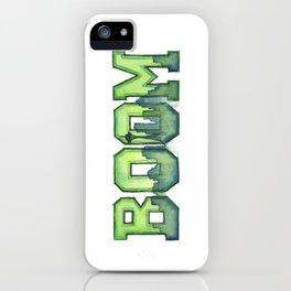 Legion of Boom Seattle 12th Man Art iPhone Case