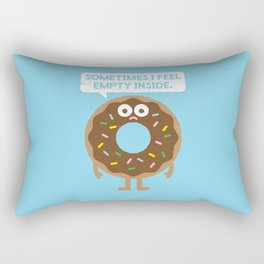 It's Not All Rainbow Sprinkles... Rectangular Pillow