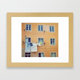 Windows of Alfama, Lisbon Framed Art Print