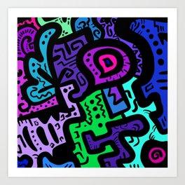 Baklava Art Print