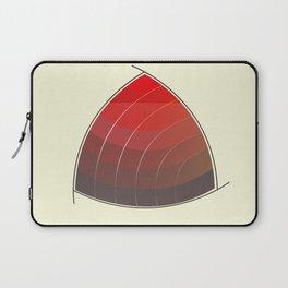 Le Rouge-Orangé (ses diverses nuances combinées avec le noir) Vintage Remake, no text Laptop Sleeve