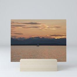 Tranquility Sailing Mini Art Print