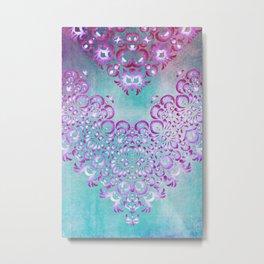 Floral Fairy Tale Metal Print