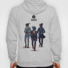 Snazzy looking bots Hoody