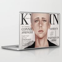 snk Laptop & iPad Skins featuring SnK Magazine: Connie by emametlo