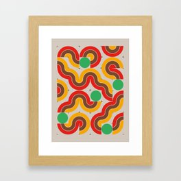 CONNECTED #5 Framed Art Print