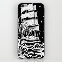 sail iPhone & iPod Skins featuring Sail by Giovanni Tamponi