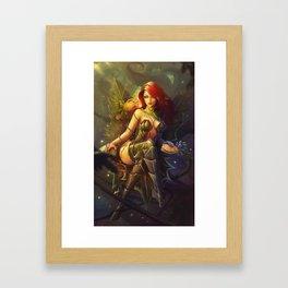 Poison Ivy Framed Art Print