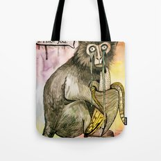Sad Monkey Tote Bag
